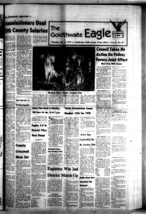 The Goldthwaite Eagle (Goldthwaite, Tex.), Vol. 85, No. 40, Ed. 1 Thursday, January 4, 1979