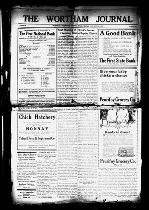 The Wortham Journal (Wortham, Tex.), Vol. 30, No. 36, Ed. 1 Friday, January 11, 1929