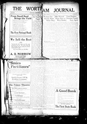 The Wortham Journal (Wortham, Tex.), Vol. 30, No. 37, Ed. 1 Friday, January 18, 1929