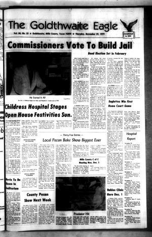 The Goldthwaite Eagle (Goldthwaite, Tex.), Vol. 86, No. 33, Ed. 1 Thursday, November 29, 1979