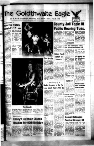 The Goldthwaite Eagle (Goldthwaite, Tex.), Vol. 86, No. 28, Ed. 1 Thursday, October 25, 1979