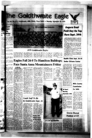 The Goldthwaite Eagle (Goldthwaite, Tex.), Vol. 86, No. 24, Ed. 1 Thursday, September 20, 1979