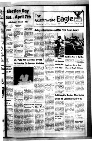 The Goldthwaite Eagle (Goldthwaite, Tex.), Vol. 85, No. 52, Ed. 1 Thursday, April 5, 1979