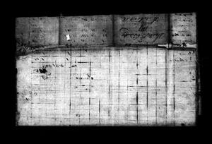 Primary view of [Jasper County, Texas Tax Roll: 1837]