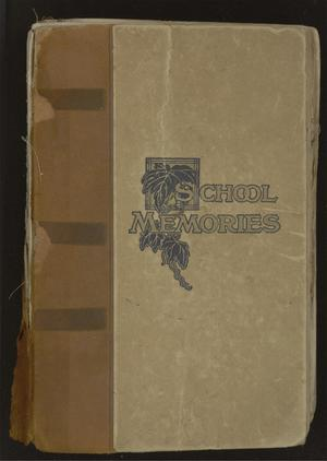 Primary view of object titled '[Scrapbook from Texas Presbyterian College for Girls]'.