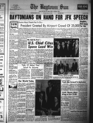 Primary view of object titled 'The Baytown Sun (Baytown, Tex.), Vol. 44, No. 17, Ed. 1 Wednesday, September 12, 1962'.