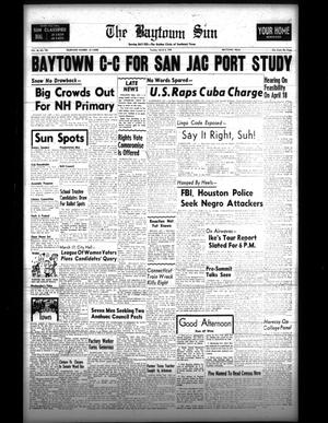 Primary view of The Baytown Sun (Baytown, Tex.), Vol. 40, No. 190, Ed. 1 Tuesday, March 8, 1960