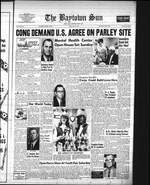 Primary view of The Baytown Sun (Baytown, Tex.), Vol. 45, No. 256, Ed. 1 Thursday, April 18, 1968
