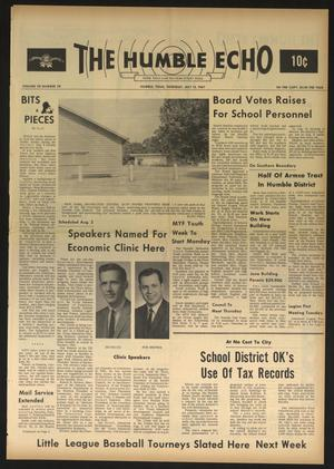 The Humble Echo (Humble, Tex.), Vol. 28, No. 28, Ed. 1 Thursday, July 13, 1967
