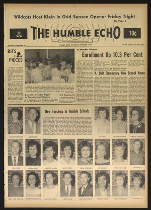 The Humble Echo (Humble, Tex.), Vol. 28, No. 36, Ed. 1 Thursday, September 7, 1967