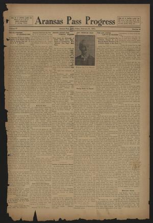 Aransas Pass Progress (Aransas Pass, Tex.), Vol. 4, No. 46, Ed. 1 Friday, February 21, 1913