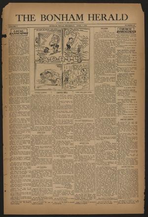 The Bonham Herald (Bonham, Tex.), Vol. 5, No. 38, Ed. 1 Thursday, April 7, 1932