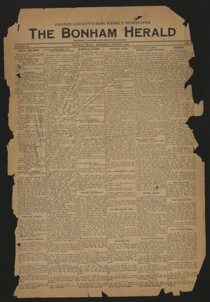 The Bonham Herald (Bonham, Tex.), Vol. 12, No. 102, Ed. 1 Friday, August 4, 1939