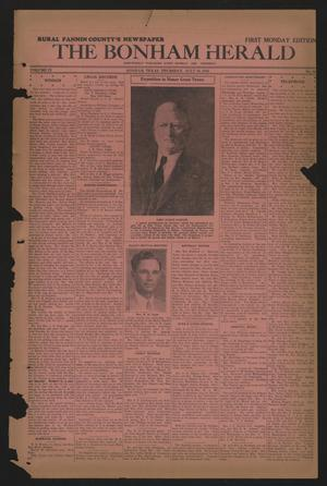 The Bonham Herald (Bonham, Tex.), Vol. 9, No. 96, Ed. 1 Thursday, July 30, 1936