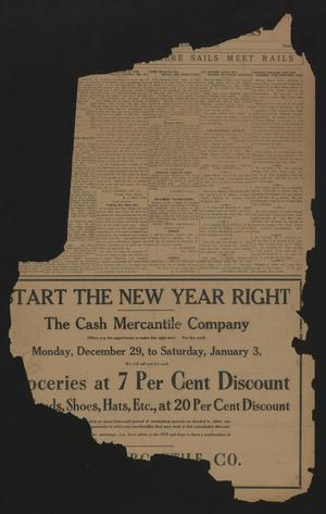 Aransas Pass Progress (Aransas Pass, Tex.), Ed. 1 Friday, December 26, 1919