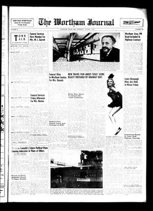 The Wortham Journal (Wortham, Tex.), Vol. 67, No. 16, Ed. 1 Thursday, August 5, 1965