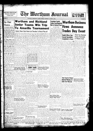 The Wortham Journal (Wortham, Tex.), Vol. 57, No. 13, Ed. 1 Thursday, August 4, 1955