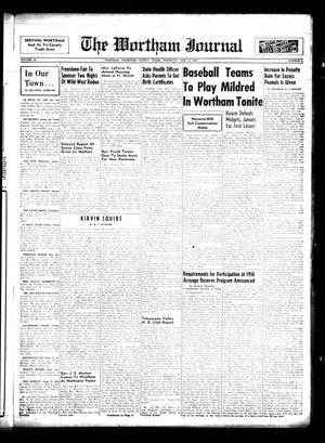 The Wortham Journal (Wortham, Tex.), Vol. 58, No. 6, Ed. 1 Thursday, June 14, 1956