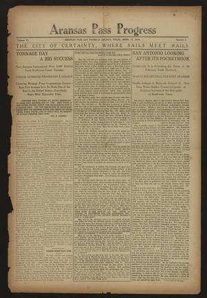 Aransas Pass Progress (Aransas Pass, Tex.), Vol. 6, No. 2, Ed. 1 Friday, April 17, 1914