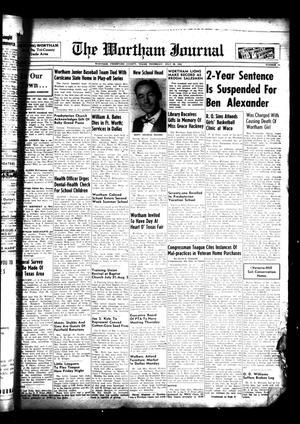 The Wortham Journal (Wortham, Tex.), Vol. 57, No. 12, Ed. 1 Thursday, July 28, 1955