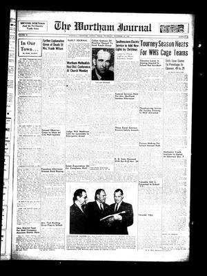 The Wortham Journal (Wortham, Tex.), Vol. 58, No. 30, Ed. 1 Thursday, November 29, 1956