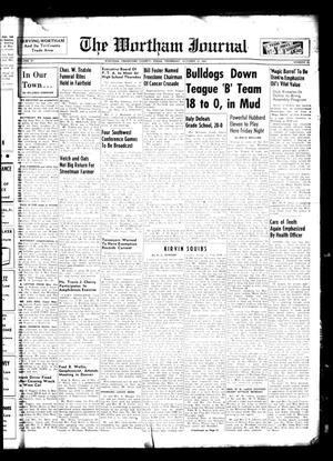 The Wortham Journal (Wortham, Tex.), Vol. 57, No. 23, Ed. 1 Thursday, October 13, 1955