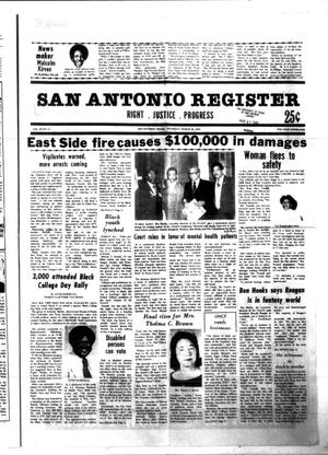 Primary view of object titled 'San Antonio Register (San Antonio, Tex.), Vol. 49, No. 51, Ed. 1 Thursday, March 26, 1981'.