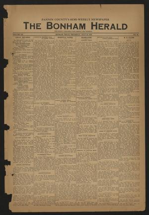 The Bonham Herald (Bonham, Tex.), Vol. 12, No. 98, Ed. 1 Thursday, July 20, 1939