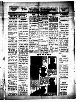 Primary view of The Mullin Enterprise. (Mullin, Tex.), Vol. 38, No. 43, Ed. 1 Thursday, January 6, 1938
