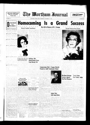 The Wortham Journal (Wortham, Tex.), Vol. 67, No. 30, Ed. 1 Thursday, November 11, 1965
