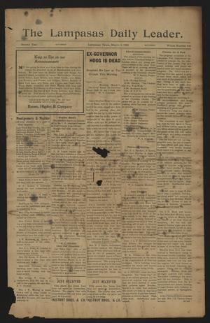The Lampasas Daily Leader. (Lampasas, Tex.), Vol. 2, No. 616, Ed. 1 Saturday, March 3, 1906