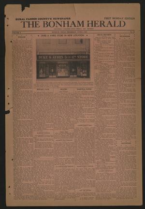 The Bonham Herald (Bonham, Tex.), Vol. 10, No. 80, Ed. 1 Thursday, June 3, 1937