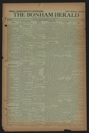 The Bonham Herald (Bonham, Tex.), Vol. 9, No. 88, Ed. 1 Thursday, July 2, 1936
