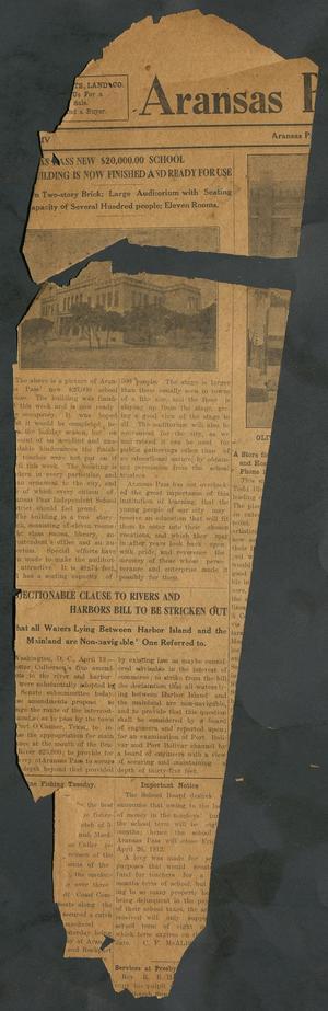 Aransas Pass Progress (Aransas Pass, Tex.), Vol. 4, No. [1], Ed. 1 Friday, April 19, 1912