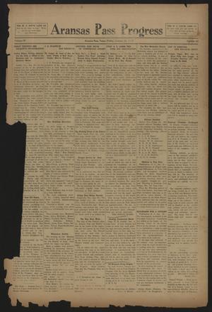 Aransas Pass Progress (Aransas Pass, Tex.), Vol. 4, No. 42, Ed. 1 Friday, January 24, 1913