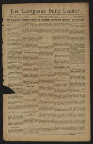 The Lampasas Daily Leader. (Lampasas, Tex.), Vol. 2, No. 590, Ed. 1 Thursday, February 1, 1906
