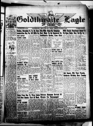 Primary view of object titled 'The Goldthwaite Eagle (Goldthwaite, Tex.), Vol. 54, No. 11, Ed. 1 Friday, October 31, 1947'.