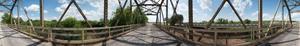 Old Highway Bridge along US Highway 281 in Shackelford County, Texas