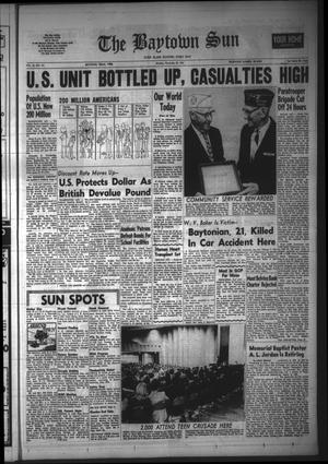 Primary view of The Baytown Sun (Baytown, Tex.), Vol. 45, No. 101, Ed. 1 Monday, November 20, 1967