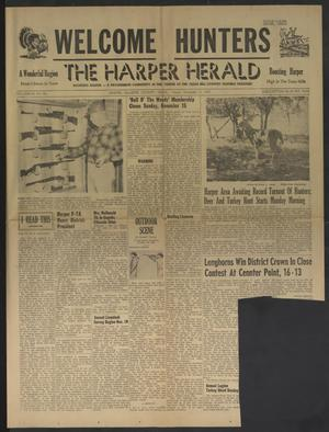 The Harper Herald (Harper, Tex.), Vol. 44, No. 46, Ed. 1 Friday, November 13, 1959