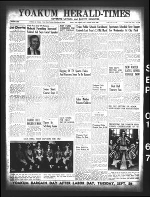 Yoakum Herald-Times (Yoakum, Tex.), Vol. 69, No. 102, Ed. 1 Friday, September 1, 1967