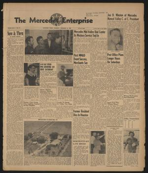 Primary view of object titled 'The Mercedes Enterprise (Mercedes, Tex.), Vol. 44, No. 50, Ed. 1 Thursday, December 13, 1956'.
