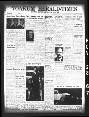 Yoakum Herald-Times (Yoakum, Tex.), Vol. 69, No. 137, Ed. 1 Tuesday, November 28, 1967