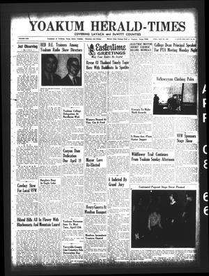Yoakum Herald-Times (Yoakum, Tex.), Vol. 69, No. 42, Ed. 1 Friday, April 8, 1966