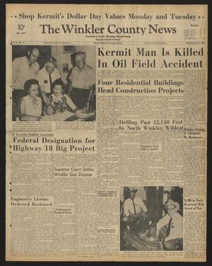 The Winkler County News (Kermit, Tex.), Vol. 28, No. 16, Ed. 1 Monday, July 1, 1963
