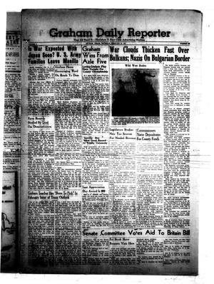 Graham Daily Reporter (Graham, Tex.), Vol. 4, No. 143, Ed. 1 Thursday, February 13, 1941