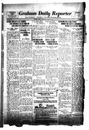 Graham Daily Reporter (Graham, Tex.), Vol. 3, No. 171, Ed. 1 Wednesday, March 25, 1936