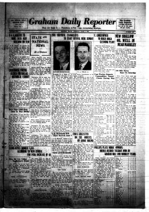 Primary view of object titled 'Graham Daily Reporter (Graham, Tex.), Vol. 2, No. 230, Ed. 1 Tuesday, June 2, 1936'.