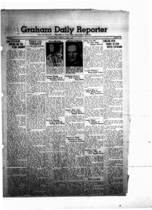 Primary view of object titled 'Graham Daily Reporter (Graham, Tex.), Vol. 5, No. 181, Ed. 1 Saturday, April 1, 1939'.