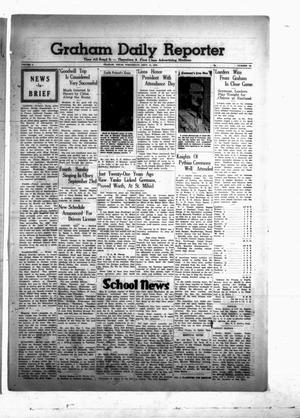 Primary view of Graham Daily Reporter (Graham, Tex.), Vol. 6, No. 10, Ed. 1 Wednesday, September 13, 1939